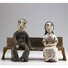 Beatrice Wood Sculptures   315: BEATRICE WOOD Ceramic sculpture : Lot 315
