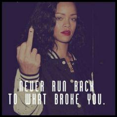 Rihanna weiß das wohl nach ihrer Beziehung mit Chris Brown ganz genau...