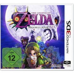 Zelda: Majora's Mask 3D 3DS in Rollenspiele RPG FSK 12, Spiele und Games in Online Shop http://Spiel.Zone
