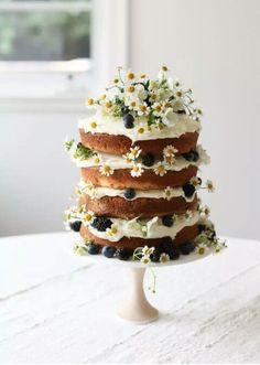 Cute flowery cake, p