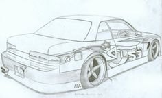 nissan cars coloring pages. Find the newest extraordinary images ideas especially some topics related to nissan cars coloring pages only in . Nissan Z, Cool Car Drawings, Colorful Drawings, Art Drawings, Nissan Silvia, Lowrider Hydraulics, S13 Silvia, Jdm Wallpaper, Drifting Cars