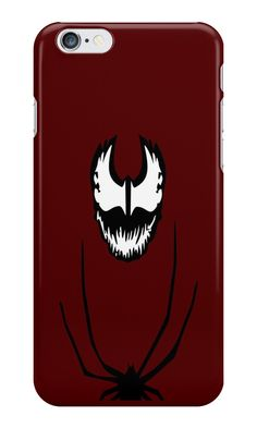 """Carnage Minimalist Art"" iPhone Cases & Skins by adesigngeek 