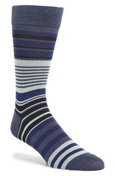 Cole+Haan+Stripe+Cotton+Blend+Socks+available+at+#Nordstrom