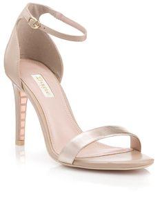 e431ff52f348 22 Best Beautiful rose gold sandals images