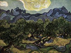 VAN GOGH, VincentThe Olive TreesJune-July 1889, Saint-RémyOil on canvas, 73 x 91 cmMuseum of Modern Art, New York