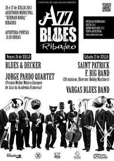 II-Festival-de-Jazz-&-Consulta todo el programa del Festival de Jazz & Blues 2013 de Ribadeo.