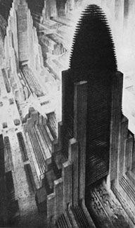 hugh ferriss the metropolis of tomorrow - Google Search