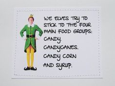 94 Best Elf Quotes Images Merry Christmas Christmas Movies