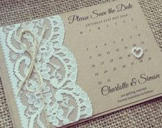 wedding invites Great Picture of Rustic Lace Wedding Invitations Rustic Lace Wedding Invitations Custom Listing Rustic Lace Save The Date In 2018 Evening Wedding Invitations, Kraft Wedding Invitations, Affordable Wedding Invitations, Rustic Invitations, Wedding Stationery, Wedding Cards, Diy Wedding, Event Invitations, Invitation Wording