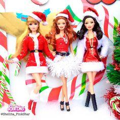 barbie xmas handmade collection by PinkStar