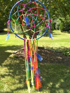 LARGE Festival Dream Catcher by WhenYouWereDreaming on Etsy