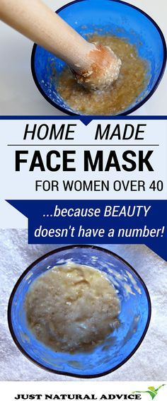 Homemade Face Mask For Women Over 40! Because beauty doesnt have a number!