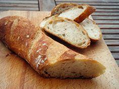 Bread Dough Recipe, Ciabatta, Bread Rolls, Winter Food, Bread Recipes, Breads, Drink, Modern