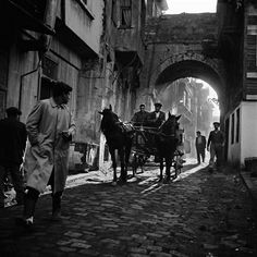 European photographic research tour exhibition: 'Ara Güler: Two Archives, One Selection: Tracing Ara Güler's Footsteps in Istanbul' at the Istanbul Museum of Modern Art Modern Photography, Black And White Photography, Street Photography, Fashion Photography, Paris Match, Hagia Sophia, Magnum Photos, Ansel Adams, Historical Pictures