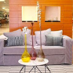 Interior design with NasonMoretti's handmade in original Murano glass products.