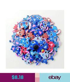 0baebf085d9d4 Girls  Accessories Cute Stitch Shoe Charms Decoration For Croc Jibbitz  Bracelets Kids Gifts