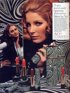 Avon ad from the 60s...my mother had these.