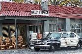 "Mt. Airy, NC - ""Mayberry"", home of Andy Griffith. Time permitting, we would like to spend a day here, see City Jail and maybe have a hotdog at Snappy Lunch or go to the Bluebird Diner....Husband may need a trim at Floyd's Barber Shop. Gotta love Andy :)"