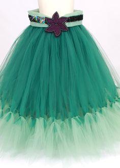 Tutu Skirt  Jade  Mermaid Halloween or by Cutiepatootiedesignz, $105.00