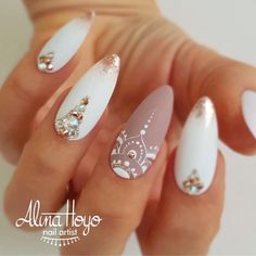 Beautiful nails by @alinahoyonailartist Ugly Duckling Nails page is dedicated to promoting quality, inspirational nails from a vast array…