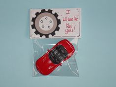 I wheelie like you. Kampen Lane - A mommas life lessons with a splash of crafts: 20 Classmate Valentines (non-food) My Funny Valentine, Valentine Gifts For Boys, Valentines Day Party, Valentines Day Decorations, Valentine Crafts, Valentine Ideas, All You Need Is, Happy Hearts Day, Free Candy