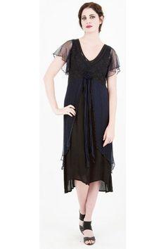 Sapphire empire waist dress http://www.natayadresses.com/845-thickbox/nataya-150-downton-abbey-dinner-dress.jpg