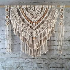 Macrame Wall Hanging for Your Home Decor Large Fiber Art   Etsy
