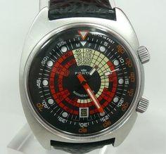 d7e914f18c9 Fortis Marinemaster Diver Watch Relógios Antigos