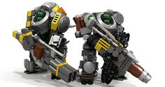 LEGO: Mechs, Hardsuits, and Bots