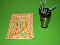 Mug with straws