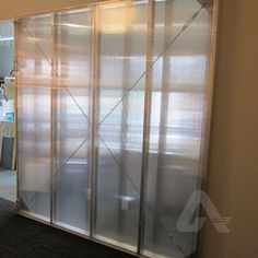 Polycarbonate Privacy Wall Partition