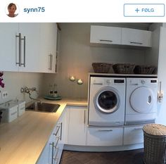 Fint vaskerom