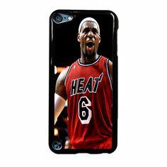 Lebron James Heat Nba Miami Heat Basketball Ipod Touch 5 Case