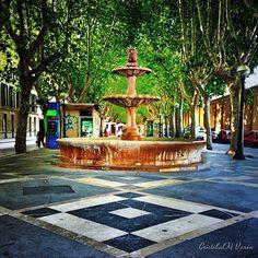 Lugar de los más emblemáticos de #Mallorca, quien no conoce la #fuente de las #ramblas de #Palma