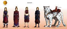 Commission: Amari - Character Concept Design by Marina-Shads.deviantart.com on @deviantART