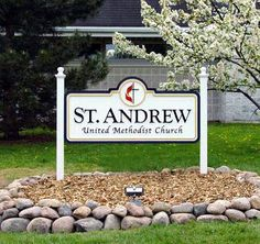 Church Signs by Strata Outdoor Custom Signage of Chicago by Strata Custom Wood Signs, via Flickr