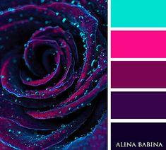 New Paint Palette Tattoo Color Schemes 63 Ideas Color Schemes Colour Palettes, Colour Pallette, Color Combos, Purple Color Schemes, Yarn Colors, Colours, Vibrant Colors, Colorful, Decoration Palette
