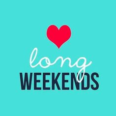 Weekend Quotes : Just a reminder that one of the best weekends of the year is almost here! - Quotes Sayings Long Weekend Quotes, Weekend Images, Happy Long Weekend, Three Day Weekend, Weekend Humor, Hello Weekend, Friday Weekend, Three Days, Bank Holiday Monday Quotes