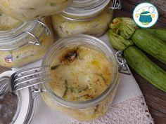 lasagne con zucchine affumicate in vasocottura