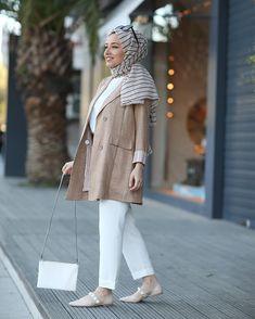 ✔ Office Look Hijab Blazers Modest Fashion Hijab, Hijab Chic, Muslim Fashion, Blazer Outfits Casual, Casual Winter Outfits, Winter Fashion Outfits, Mode Turban, Hijab Jeans, Gentleman