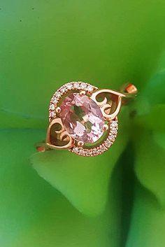Cheap And Stylish Morganite Engagement Rings ★ See more: https://ohsoperfectproposal.com/morganite-engagement-rings/ #engagementring #proposal