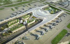 UN Studio's design for the Taiwan Taoyuan Airport reimagines how terminals should be designed