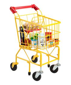 Take a look at the Kids Shopping Cart & Food Set on #zulily today!