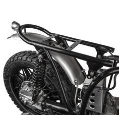 Down & Out Cafe Racers | D&O BMW Custom Subframe & Seat Base