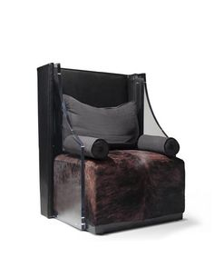 Buy King of Spades Lounge Chair from the Hide & Seek Collection - Lounge Chairs - Seating - Furniture - Dering Hall