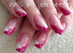 Funky Nail Art, Funky Nails, French Nails, Nail Manicure, Toe Nails, Toe Nail Designs, Beauty Nails, Glitter Nails, Summer Nails