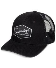 Quiksilver Men s Setstearn Trucker Hat - Black Sombreros 0149fd866d4