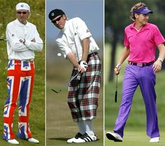 Everyone one needs this in their golf attire - Thanks Ian Poulter for leading the way