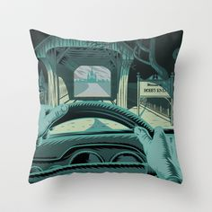In The Mouth of Madness $20.00 Throw Pillow Cover made from 100% spun polyester poplin fabric, a stylish statement that will liven up any room.
