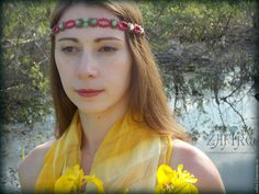 """Купить Диадема """"Земляничное лето"""" макраме, натуральные камни, хризопраз, бохо - брусничный, малиновый, зеленый"""